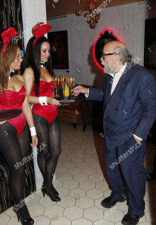 Dr Roy Ackerman CBE and bunnies