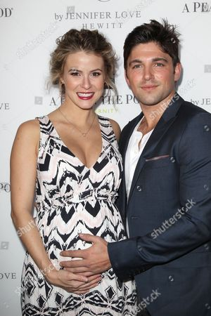 Linsey Godfrey and Robert Adamson