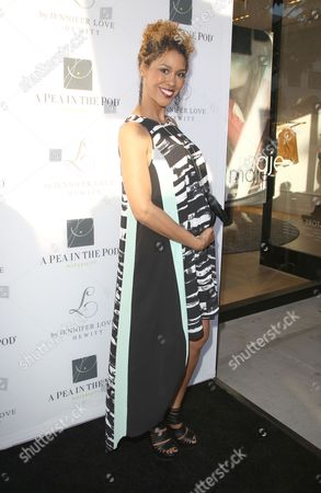 Editorial picture of A Pea in the Pod Celebrate the Launch Of 'L By Jennifer Love Hewitt', Los Angeles, America - 01 Apr 2014