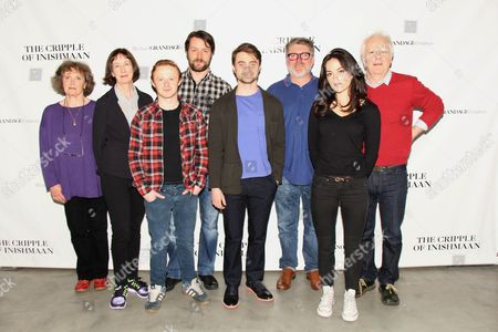 Editorial picture of 'The Cripple of Inishmaan' cast introduction, New York, America - 02 Apr 2014