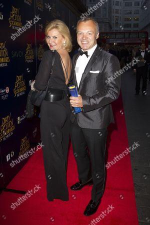 Maria McErlane and Graham Norton