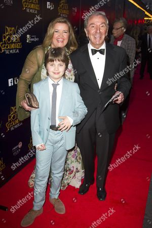 Stock Image of Jodie Brooke Wilson, Adam O'Connor and Des O'Connor