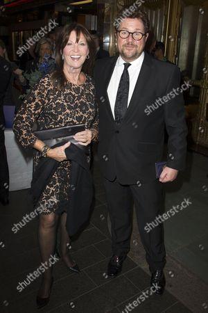 Cathy McGowan and Michael Ball