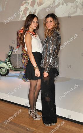 Siran Manoukian and Dalia Bayazid