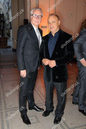Stock Image of Martin Roth and Leonard Blavatnik