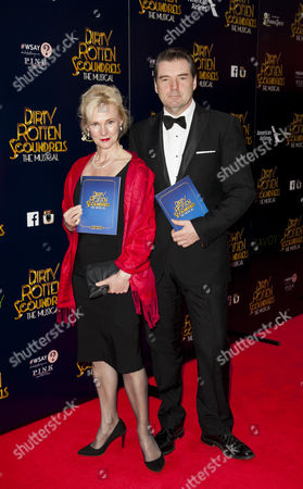 Editorial photo of 'Dirty Rotten Scoundrels' play gala night, London, Britain - 02 Apr 2014