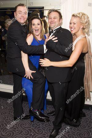 Rufus Hound (Freddy Benson), Sam Bailey, Craig Pearson and Beth Simpson