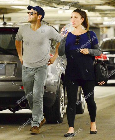 Editorial photo of Justin Bartha and Lia Smith out and about, Los Angeles, America - 02 Apr 2014