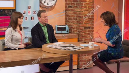 Esther Addley and Michael Portillo with Lorraine Kelly