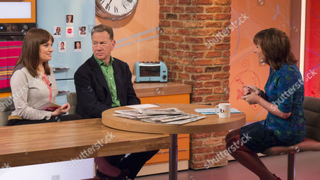 Stock Picture of Esther Addley and Michael Portillo with Lorraine Kelly
