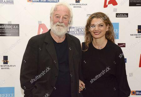 Bernard Hill and Angela Ismailos