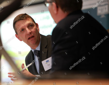 Stock Picture of Mark Easton interviews Mark Pawsey M.P