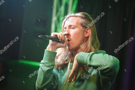 Editorial image of Asher Roth visits Radio 104.5 Performance Theater, Bala Cynwyd, Pennsylvania, America - 02 Apr 2014