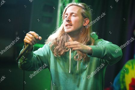 Editorial picture of Asher Roth visits Radio 104.5 Performance Theater, Bala Cynwyd, Pennsylvania, America - 02 Apr 2014