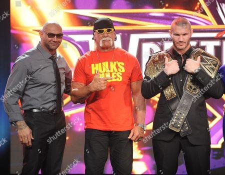 Dave Batista and Hulk Hogan and Randy Orton