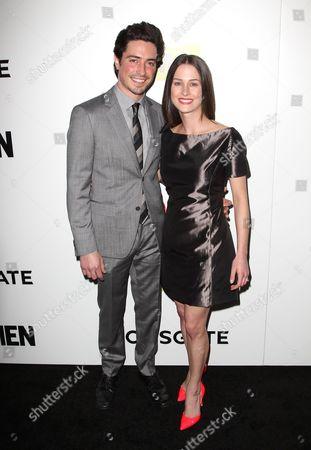 Ben Feldman and Michelle Mulitz