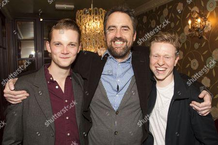 Rob Callender (Bennett), Jeremy Herrin (Director) and Will Attenborough (Judd)