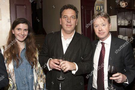 Stock Image of Catherine Moar, Danny Moar (Producer) and Edward Snape (Producer)