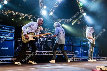 Francis Rossi, Rick Parfitt and Alan Lancaster - Status Quo