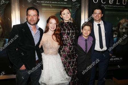 Editorial photo of 'Oculus' film premiere, Los Angeles, America - 03 Apr 2014