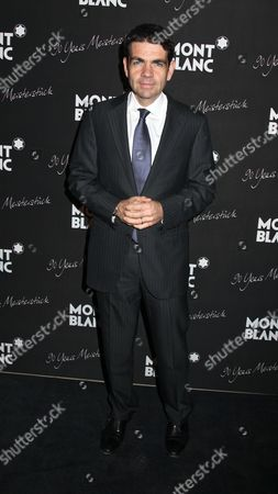 Stock Image of Jerome Lambert, Montblanc CEO