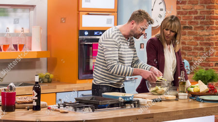 Stock Picture of Jon Rotherham and Kate Garraway