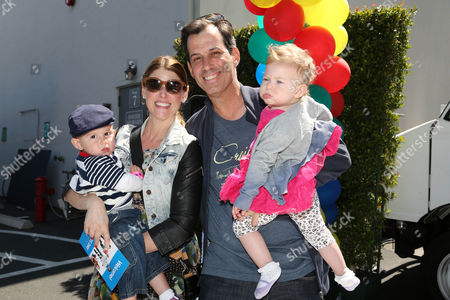 Stock Image of Craig Susser and family