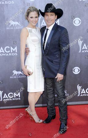 Jessica Craig and Clay Walker