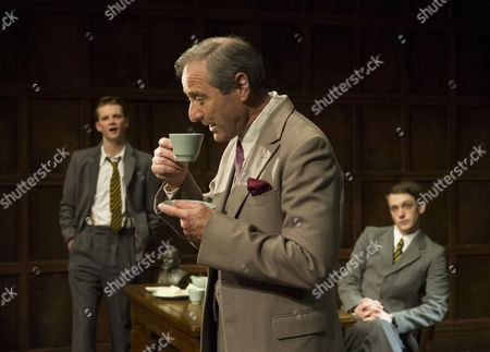 Rob Callender as Bennett, Julian Wadham as Vaughan Cunningham, Mark Donald as Devenish