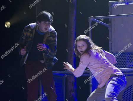 Martin Quinn as Oskar, Rebecca Benson as Eli,