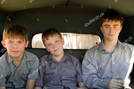 Stock Photo of December Boys, Lee Cormie, James Fraser, Daniel Radcliffe