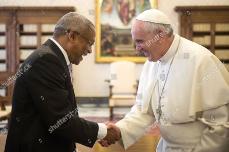 Jose Maria Neves and Pope Francis I