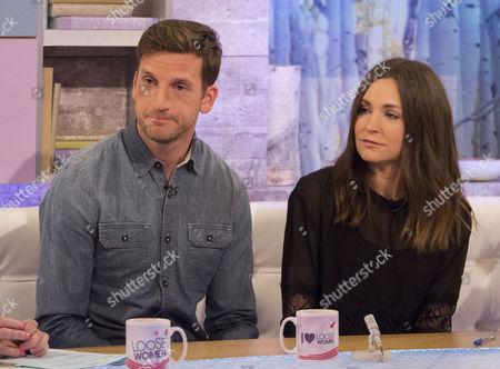 Adam Tann and wife Lauren