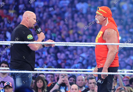 Hulk Hogan and Stone Cold Steve Austin
