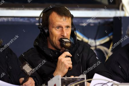 Radio commentator Steve Claridge