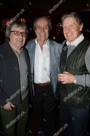 Stock Picture of Bill Wyman, Gerald Scarfe and Alan Price