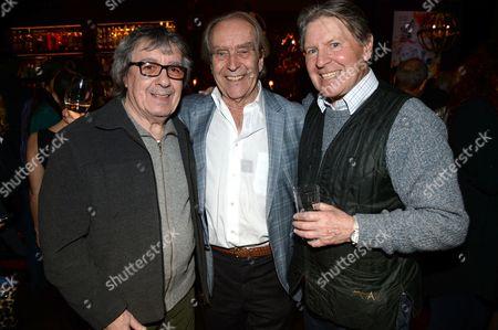 Bill Wyman, Gerald Scarfe and Alan Price