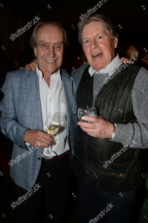 Editorial photo of Revealing of Gerald Scarfe's exclusive artwork at Scarfes Bar, London, Britain - 07 Apr 2014