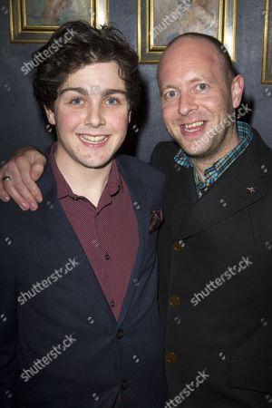 Martin Quinn (Oskar) and John Tiffany (Director)