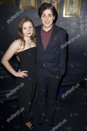 Rebecca Benson (Eli) and Martin Quinn (Oskar)