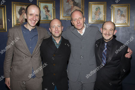 Jack Thorne (Adaptation), John Tiffany (Director), John Ajvide Lindqvist (Author) and Steven Hoggett (Associate Director)