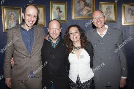 Jack Thorne (Adaptation), John Tiffany (Director), Marla Rubin (Producer) and John Ajvide Lindqvist (Author)
