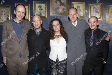 Jack Thorne (Adaptation), John Tiffany (Director), Marla Rubin (Producer), John Ajvide Lindqvist (Author) and Steven Hoggett (Associate Director)