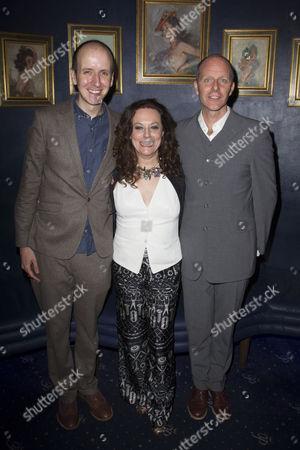 Jack Thorne (Adaptation), Marla Rubin (Producer) and John Ajvide Lindqvist (Author)
