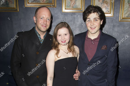 John Tiffany (Director), Rebecca Benson (Eli) and Martin Quinn (Oskar)