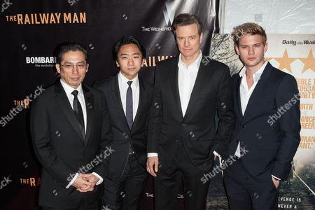 Hiroyuki Sanada, Tanroh Ishida, Colin Firth, Jeremy Irvine