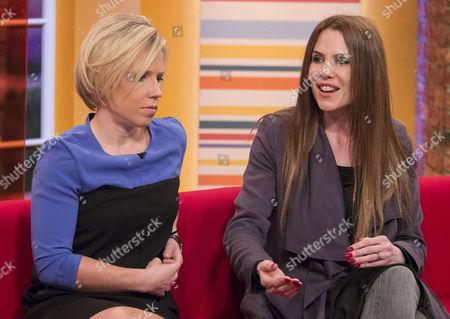 Editorial image of 'Daybreak' TV Programme, London, Britain - 08 Apr 2014