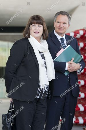 European Commissioner for Research Innovation and Science Maire Geoghegan Quinn and DG Robert Jan Smits