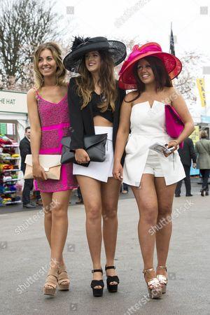 Abigail Johnson, Kerry Maher, Becca Davies