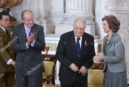 King Juan Carlos ; Enrique V. Iglesias ; Queen Sofia